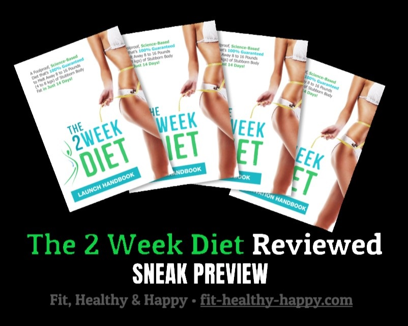 Coming soon: one of the most reliable 2 Week Diet reviews